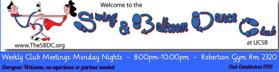 Ucsb Calendar.The Swing And Ballroom Dance Club At Ucsb Home